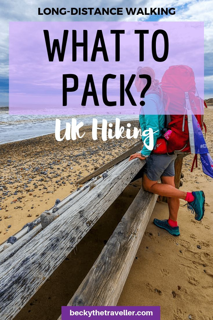 Photo of Long Distance Walk Kit List | Hiking Gear On My 952-Mile UK Hike – Becky the Traveller