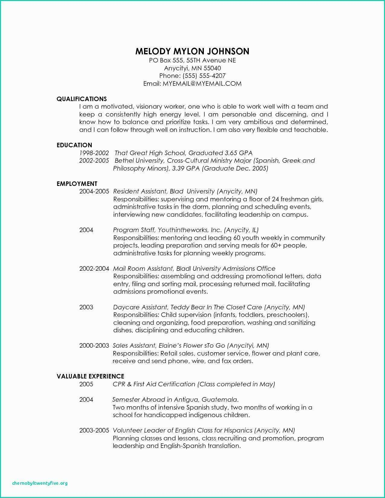 19++ High school student resume template for scholarships Examples