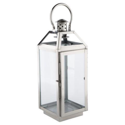 TESCO - Tesco direct: Tesco Metal Hurricane Lantern, Large