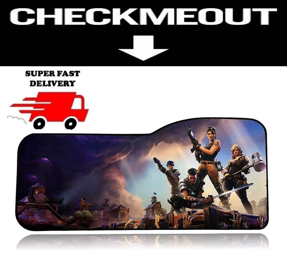 Large Fortnite Mouse Pad Professional Gaming Mouse Pad With