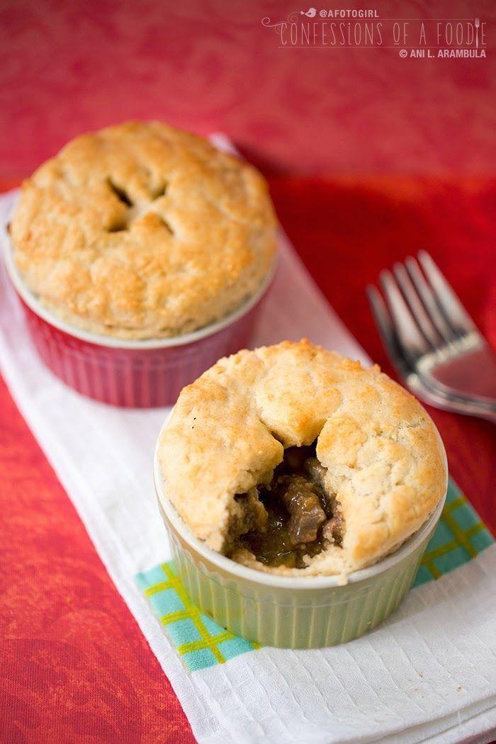 Debbie's Steak & Veggie Mini Pot Pies { recipe } | Mini ...