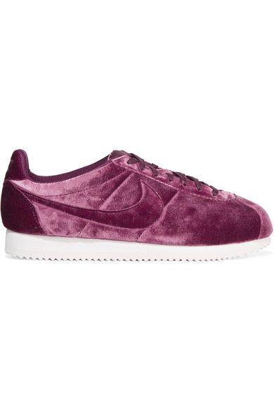 Nike - Classic Cortez Premium velvet sneakers