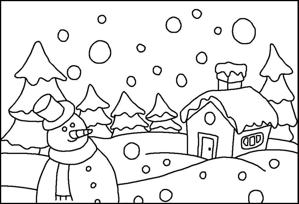 Granular Snow Falling Winter Coloring Pages For Kids Eiq Printable Winter Coloring Pages For Kids Winter Wonderland Hello Kitty Clip Art