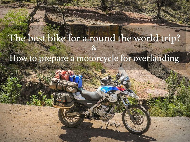Which Bikes Hard Parts Equipment Gear Round The World Trip