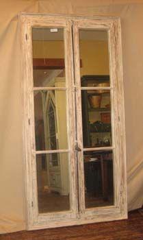 Door panels, mirrored... clever.