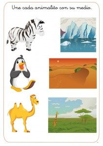 animal habitat worksheet for kids (3) | Animal Habitats | Animal ...