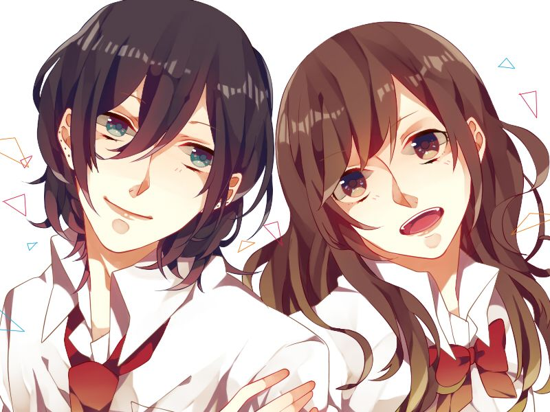 Horimiya romance manga