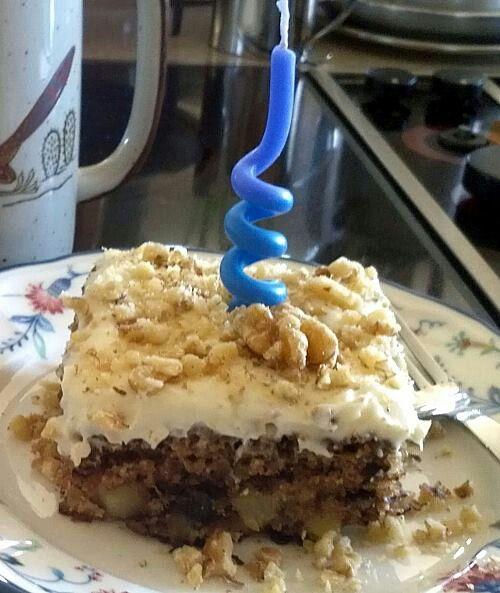 Pap's birthday cake!