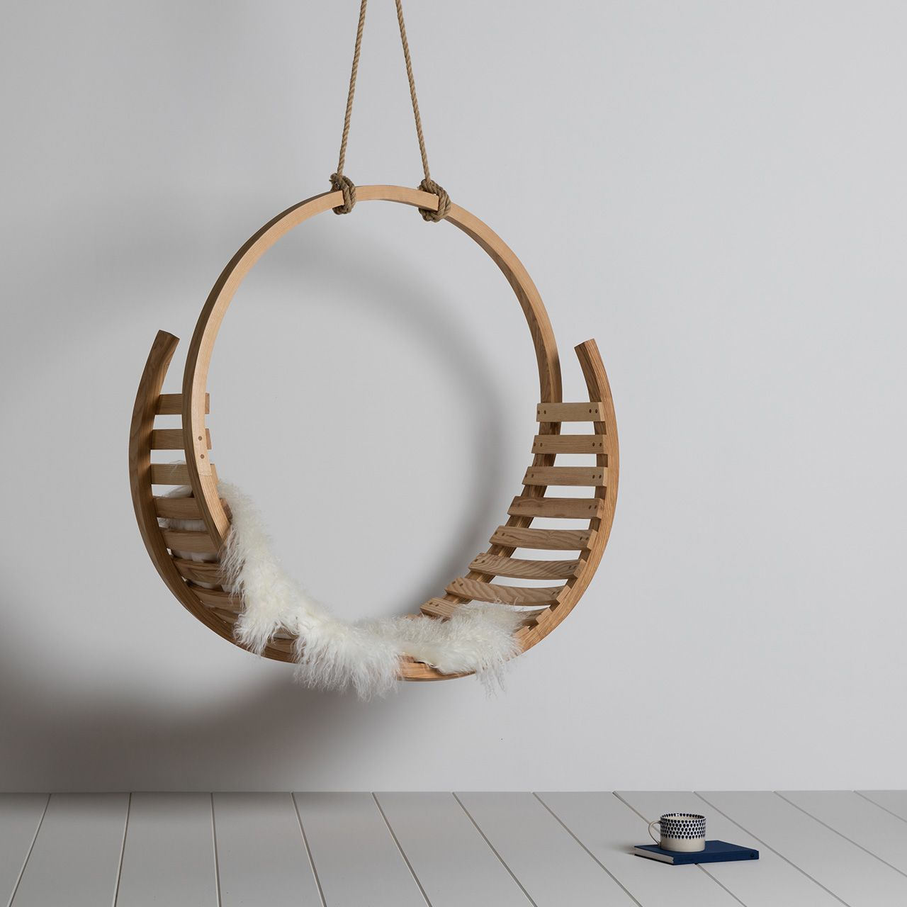 British furniture designer Tom Raffield invented a new technique for steam bending wood and has built a business around the complex forms it creates