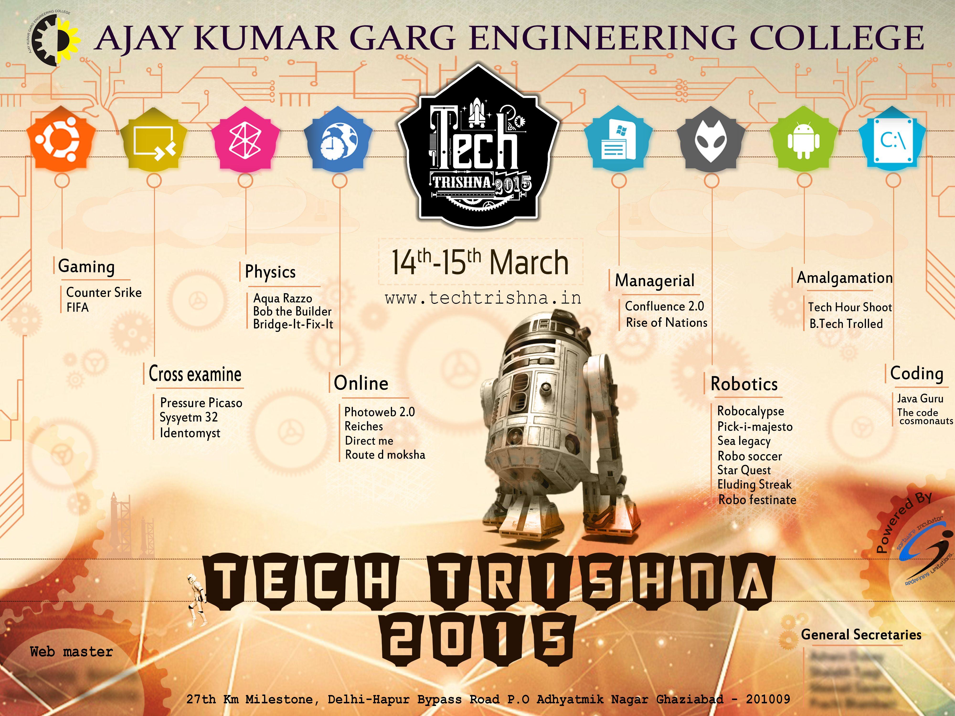 techtrishna college fest www techtrishna in poster design flex