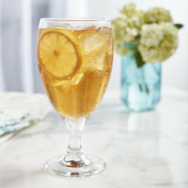 Libbey Classic 16 oz. Glass Goblet | Wayfair