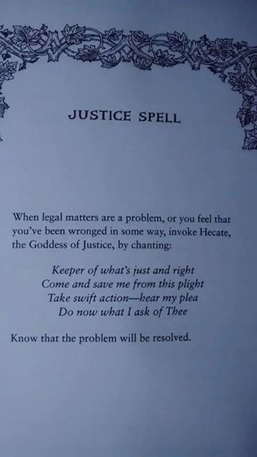Hecate Incantation to exact justice chant | Fairies, healing, and