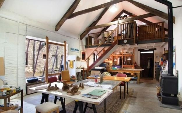 22 Home Art Studio Ideas Interior Design Reflecting Personality And Artworks Art Studio Design Art Studio At Home Artist House