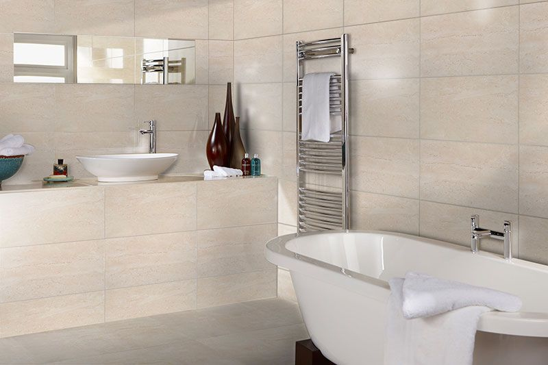 Bct20348 Hd Parallel Light Beige Wall 300mm X 600mm Small Bathroom Tiles Bathroom Wall Tile Cream Bathroom
