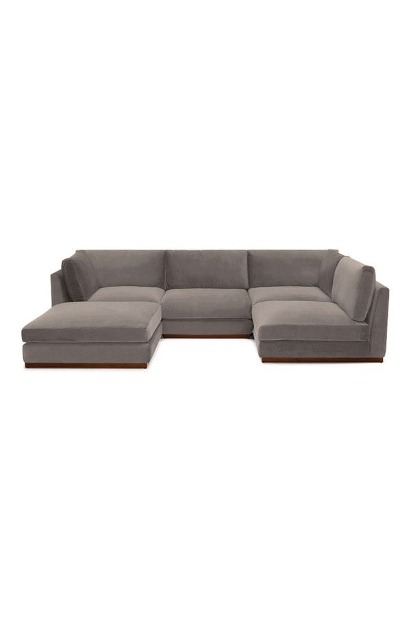 Holt Armless U Sofa Sectional 5 Piece Sectional Sofa Sofa