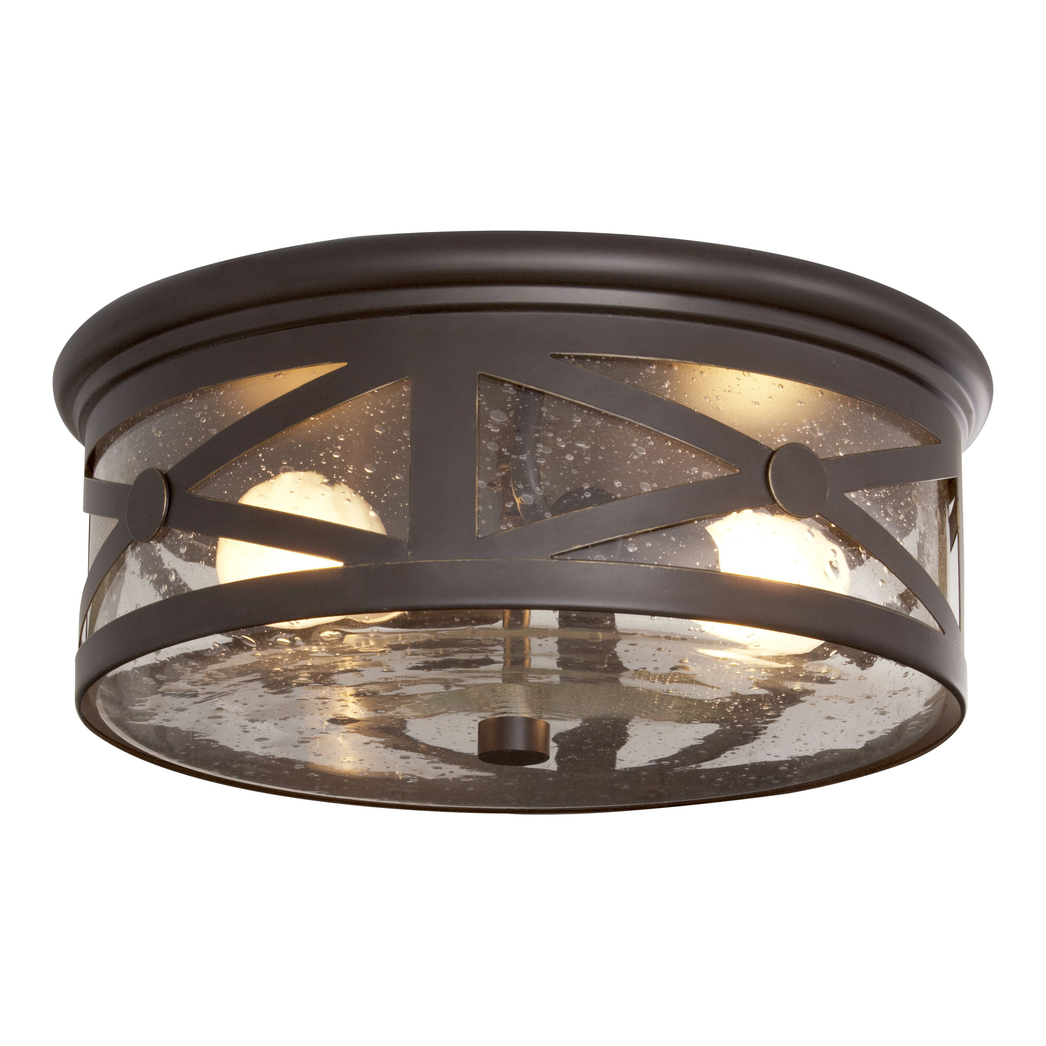 You Ll Love The Falmouth 2 Light Outdoor Flush Mount At Wayfair Great Deals On All H Outdoor Ceiling Lights Flush Mount Ceiling Lights Outdoor Light Fixtures