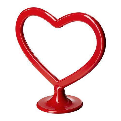 IKEA KARLEKEN - Frame for 2 pictures, heart red Ikea http://www ...