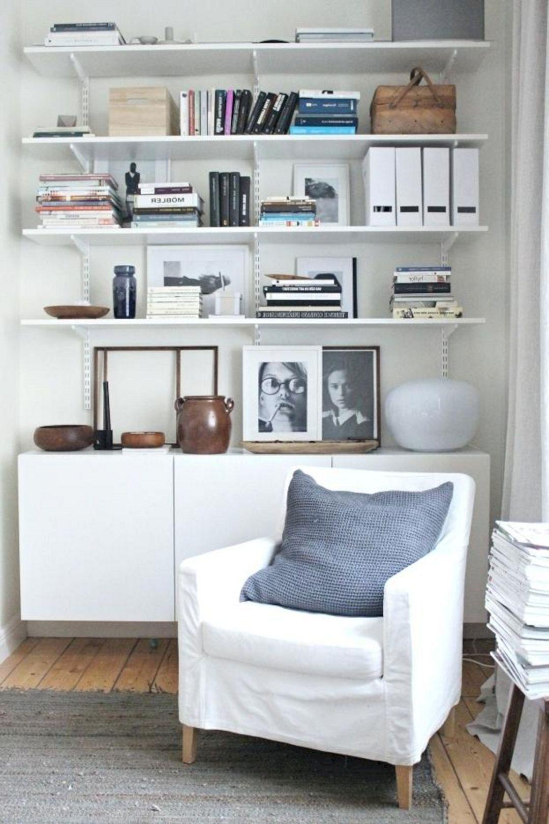 15+ Most Popular Living Room Open Shelving Ideas For ...