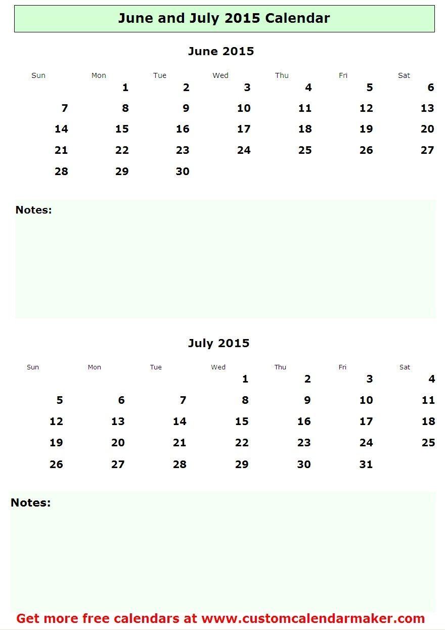 Calendar June And July : June and july calendar pinterest