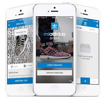 Design your own adidas ZX FLUX Shoes With The New App! - http   77cf075d1