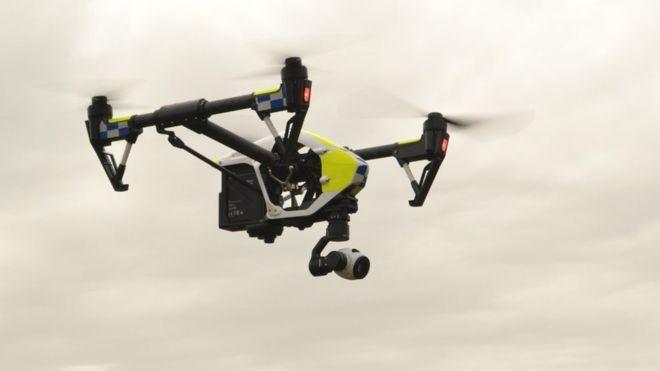 Kent Police Testing Aerial Camera Drone Drones Concept Drone Design Uav Drone