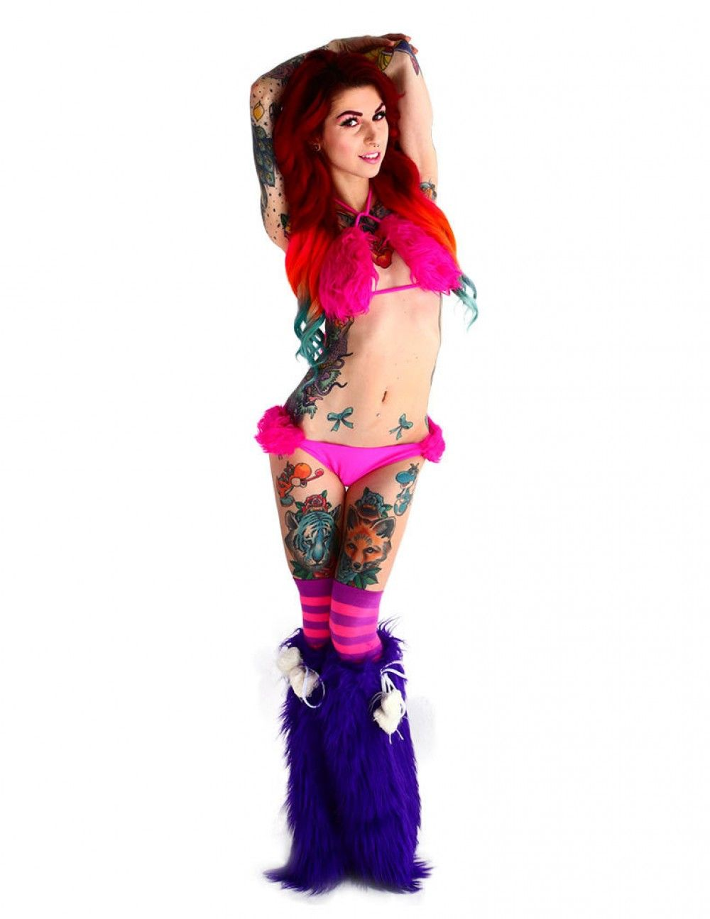 furry hearts outfit  rave attire  pinterest  rave rave