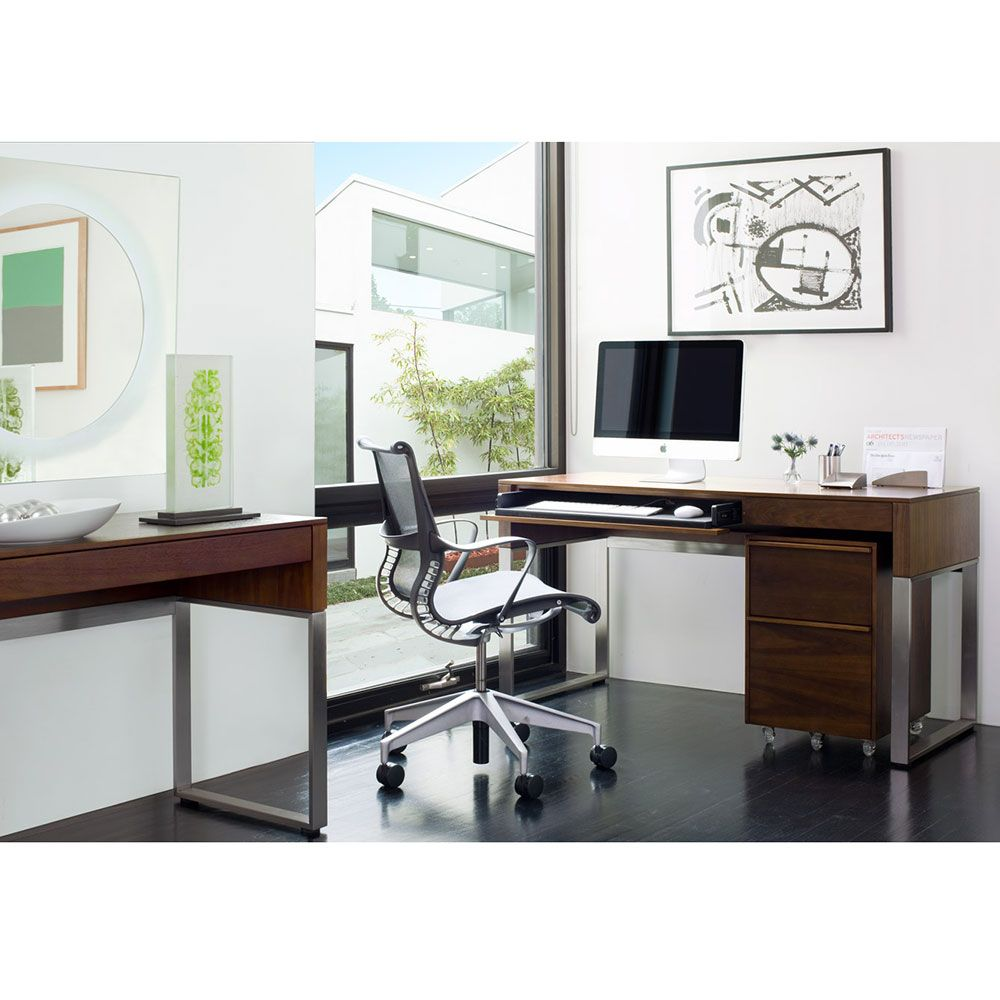 Cascadia Contemporary Desk by BDI | Modern Office for Home or ...