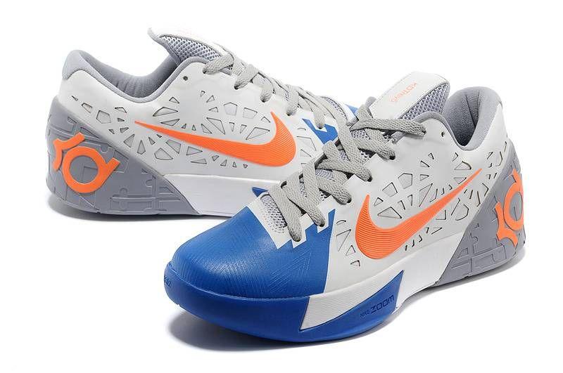 Nike KD Trey 5 White-Wolf Grey/Royal Blue-Orange [Mens Nike KD Trey 5-5984]  - $65.99 : lebronxlows.net sale|LeBron X LOW|LeBron 9 Low|Lebron 8 Low and  ...