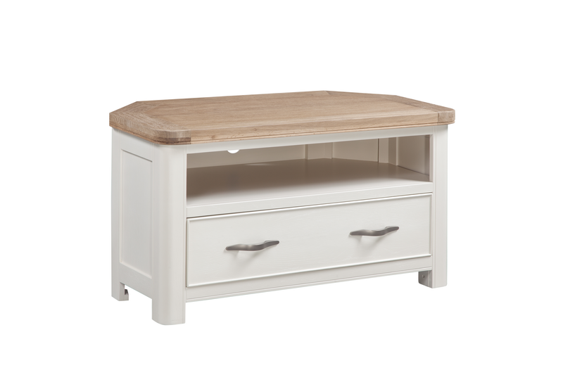 From A Country Oak Design Furniture Range With Oak Tops And Natural Weathered Finish With Stylish Grain Effect Thi Furniture Pine Furniture Corner Tv Cabinets