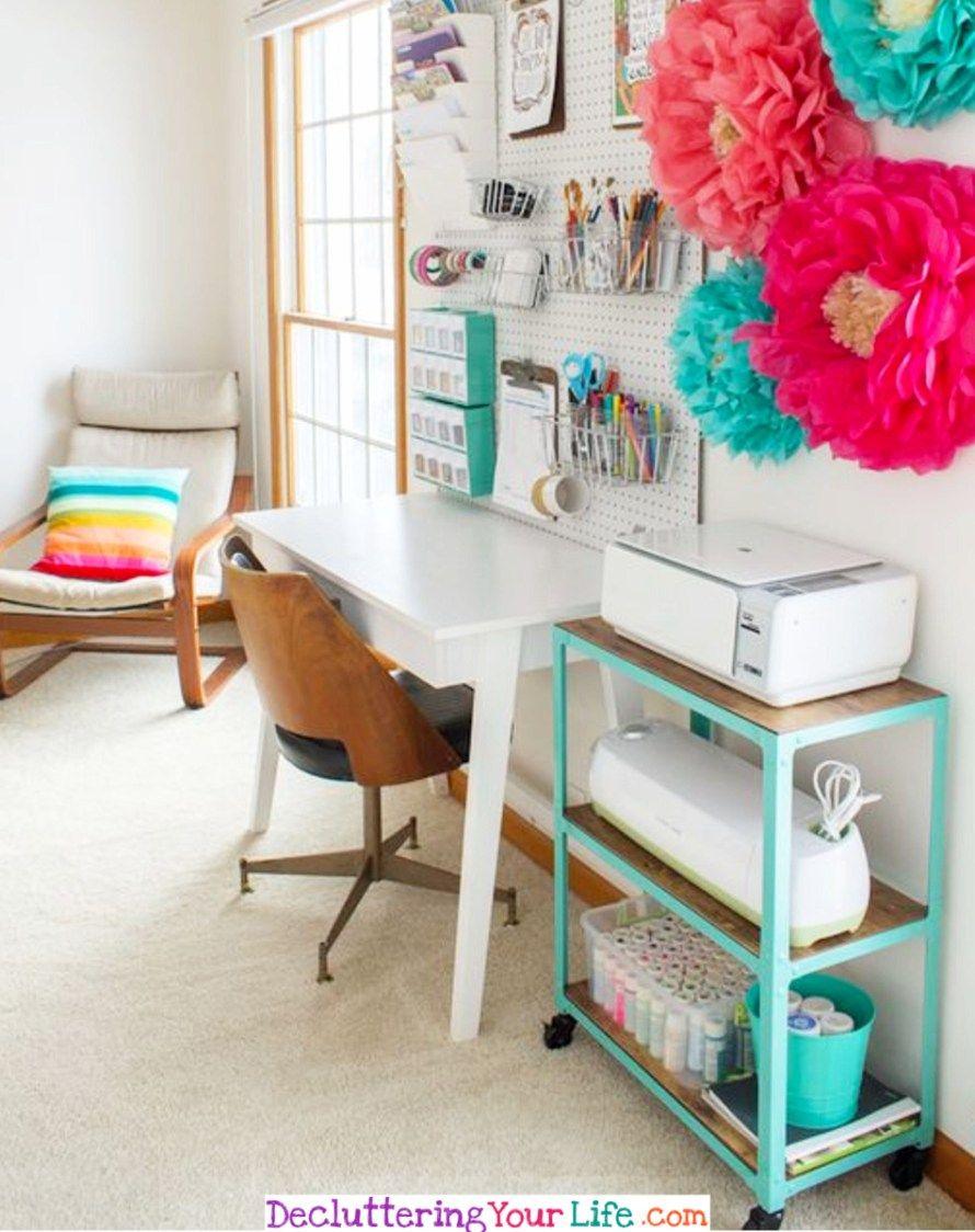 Craft Room Organization - Unexpected & Creative Ways to ...