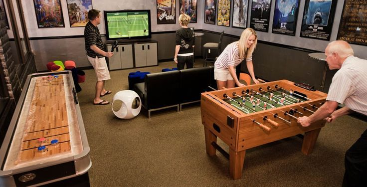Teen Hangout Game Room
