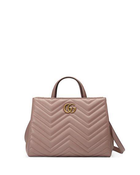 0a052444e159 GG Marmont Small Matelassé Top-Handle Bag