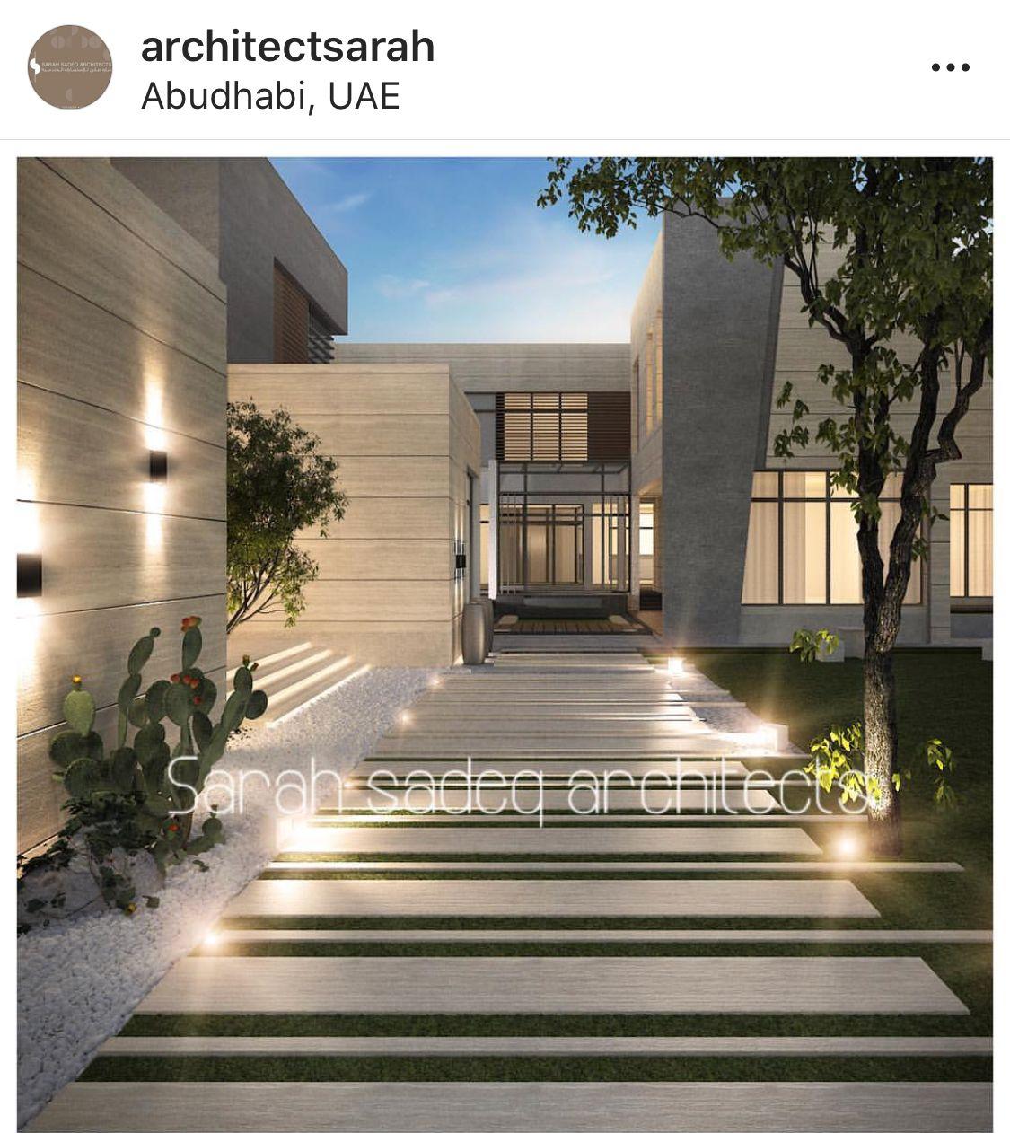 Sarah Sadeq Architects Exterior Design Home Design Floor Plans House Front Design