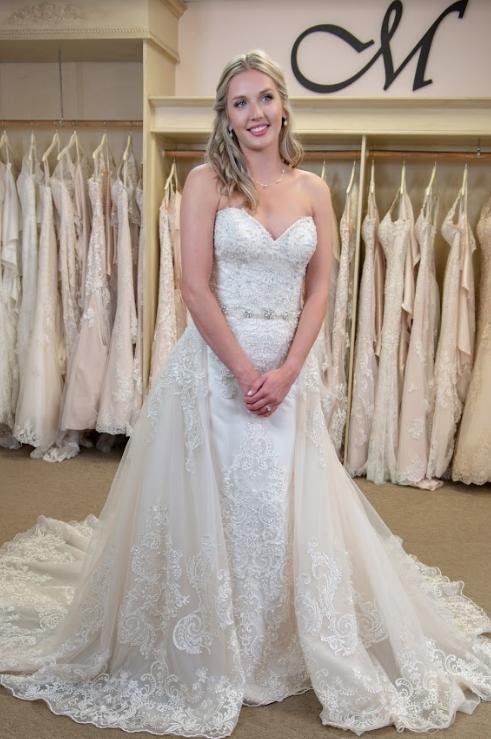 Ballgown Wedding Dress Princess Wedding Dress Detachable Outer