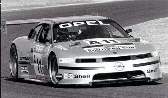 Opel Calibra - Mike Briggs from South Africa  | Race cars