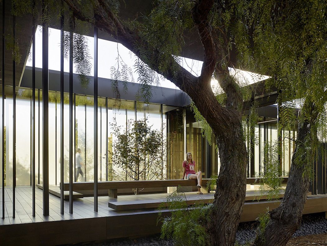 An art inspired meditation center too late to classify - Interior design universities in california ...