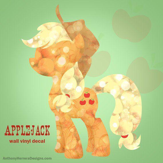 My Little Pony Wall Decals - Geek Decor   Mlp   Pinterest   Pony ...