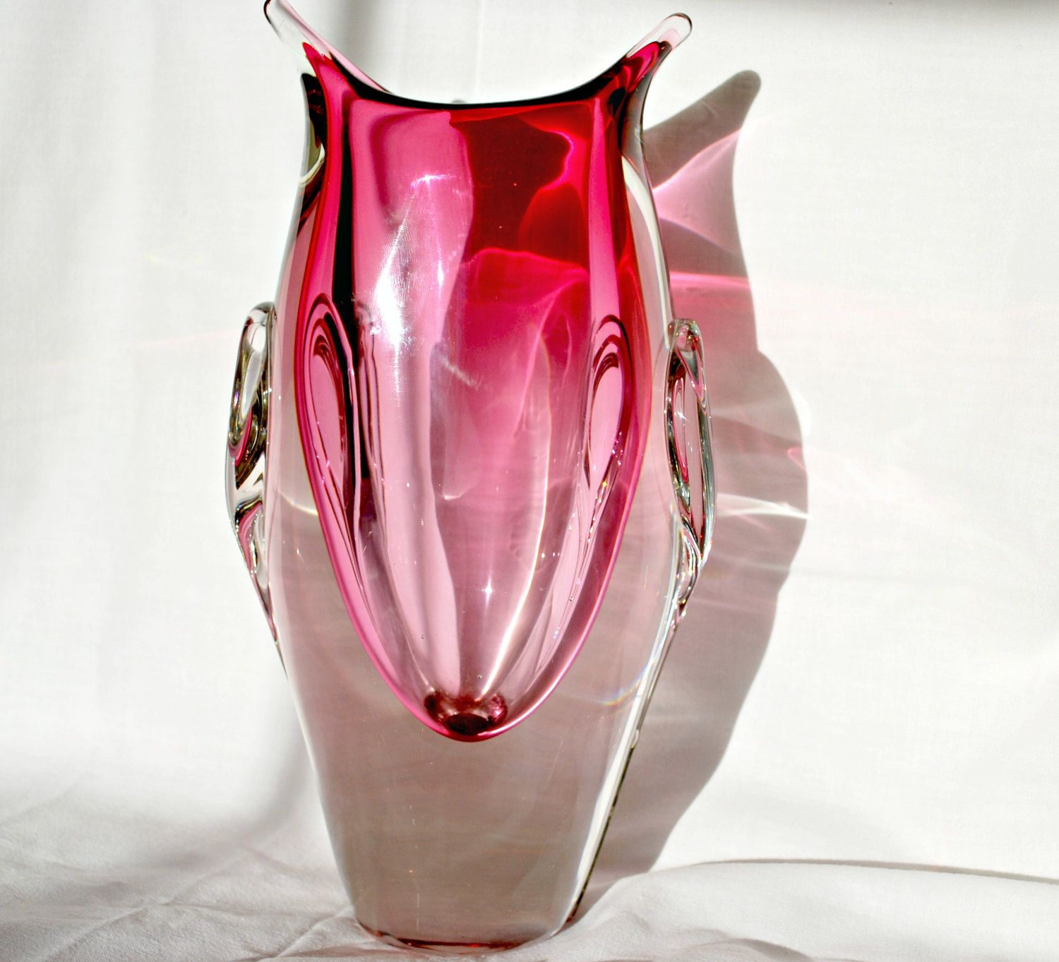 Pink glass vase chalet lorainne canada blown bubble glass vase pink glass vase chalet lorainne canada blown bubble glass vase pinned by pin4etsy reviewsmspy