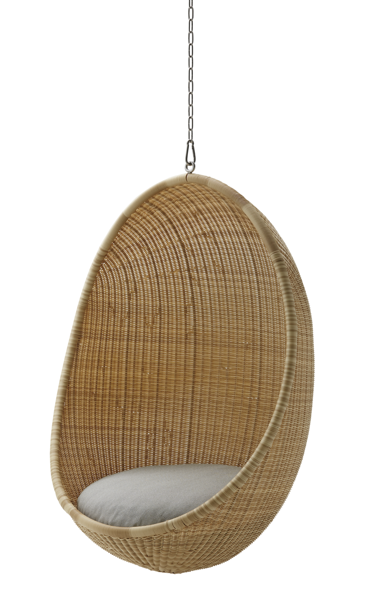 Nanna Ditzel Hanging Egg Chair Exterior Hanging swing