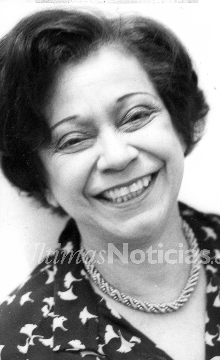 En 1908, nació la periodista y diputada venezolana María Teresa Castillo. Foto: Archivo Fotográfico/Grupo Últimas Noticias