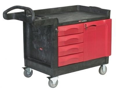 TradeMaster® Mobile Cabinets and Work Centers - 4 drawer and cabinet