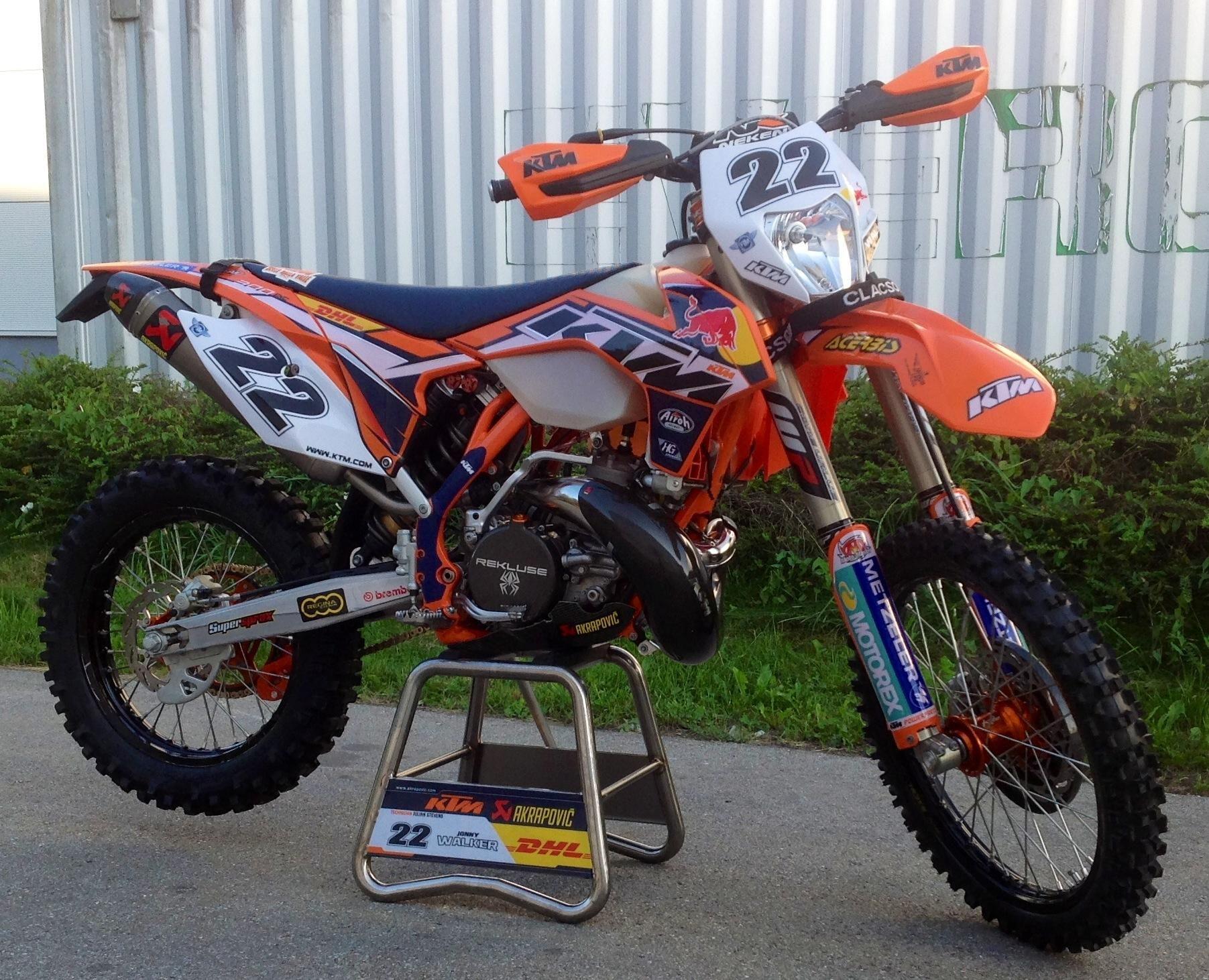 jonny walker ktm300 exc | enduro bikes for the garage | pinterest