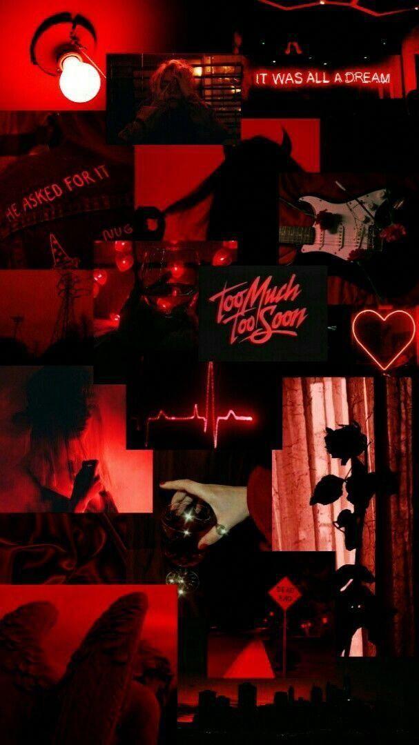 Neon Red Aesthetic Wallpaper Devil Aesthetic Vintage Neon Red Aesthetic Wallpaper Novocom Top aesthetic vintage neon red aesthetic