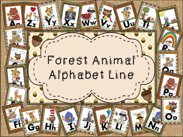 Alphabet Lines Galore for your Classroom Decor Alphabet