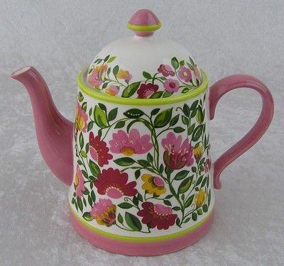 $45.00 Spode China-Kim Parker Home-Emmas Garland-Porcelain Pink Floral Flower…