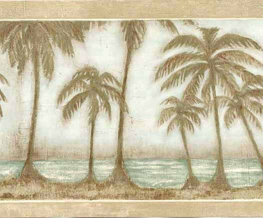 Palm Trees Painted On Kitchen Cabinets Google Search
