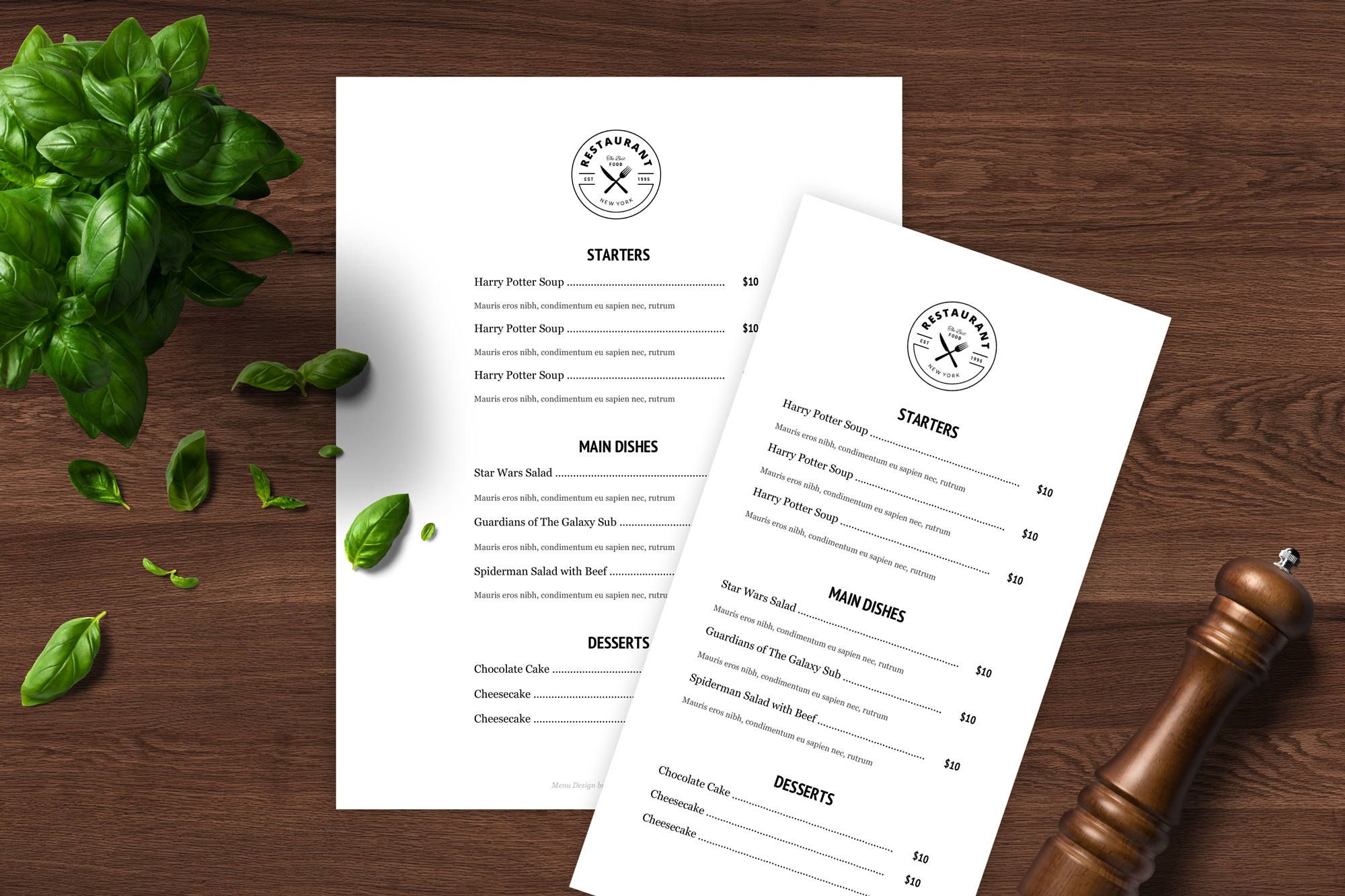 Excited to share the latest addition to my etsy shop Menu Template