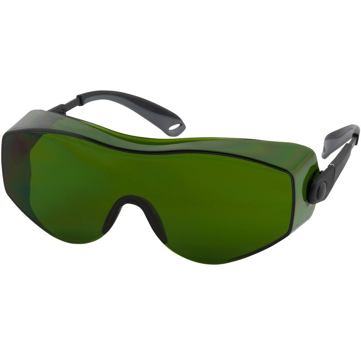 Bouton 250980013 OverSite Safety Glasses Gray Temples