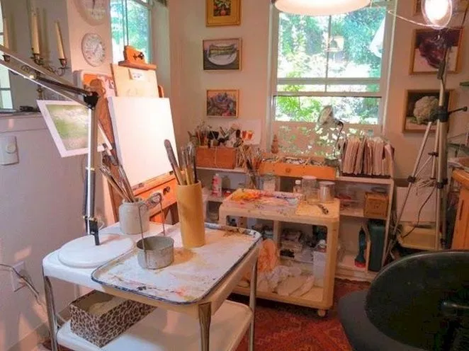 45 The Basics Of Home Art Studio Ideas Small That You Will Be Able To Learn From Beginning Today 107 Dec Art Studio Room Art Studio At Home Art Studio Design