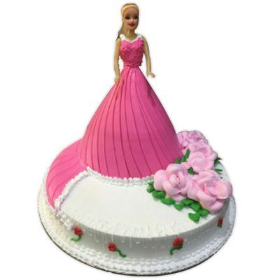 Order Online Barbie Doll Cake From